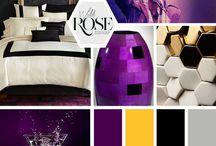 Tehtävä moodboard / Salaisen moodboard. H vartalo, lempivärit pinkki, lila ja tunika+ leggarit