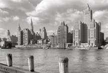 classic cityscapes / Beautiful old pictures of city streets & skylines, mainly New York and Amsterdam