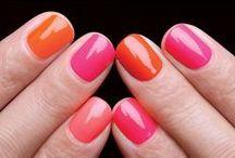 nails / Beautiful manicures and nailpolish colors. awesome nailart.