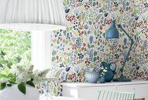 Wallpaper and colours - tapeter och kulörer