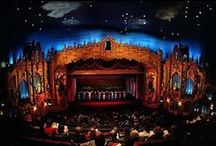 Other John Eberson Theaters / Known for their atmospheric theater fashion and excellent acoustics.