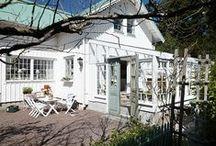 Garden - green house and conservatory (växthus o orangeri)