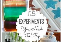 Try it! Science Experiments and Activities / A collection of hands-on experiments, activities, and ideas for lesson plans for all those science geeks out there.