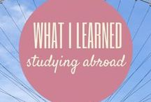 Oh the Places You'll Go!  Study Abroad