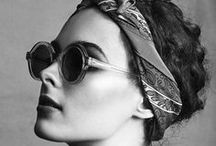 Rounded Sunglasses / Round shape sunglasses for women.