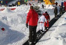 Wintersport in Willingen / Willingen im Sauerland ist eine hervorragende region für den Wintersport