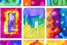 """kids art/kunstig kinderwerk / héle mooie en """"kunstige"""" activiteiten speciaal voor kinderen verzameld door.......ons! KUNSTOPDRACHTEN VOOR IN DE KLAS.  Op mijn andere bord : """"kids craft"""" verzamel ik echt knutselopdrachtjes.   A lot of art-work for kids...pinned by all of us..pin-repin-enjoy. Thanks for sharing!!!"""