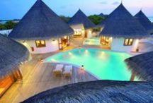 Overwater Bungalow Resorts Around the World,  / by Welcome Ɩıʄɛ ცཞıŋɠʂ ʂıɱ℘Ɩɛ ℘Ɩɛąʂųཞɛʂ ɬơ ųʂ ɛvɛཞყɖąყ. ıɬ ıʂ ų℘ ɬơ ųʂ ɬơ ɱąƙɛ ɬɧɛɱ ῳơŋɖɛཞʄųƖ ɱɛɱơཞıɛʂ...