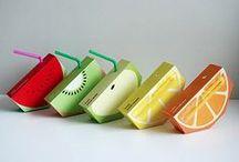 Jooze Juice  / Juice boxes designed  by an Australian design student Yunyeen Yong .