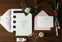 Wedding Invitations / by Shannon Shaughnessy