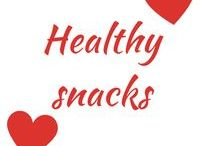 Healthy Snacks / healthy, snacks, food, plantbased, vegetarian, vegan, recipes, health, nuts, balance,