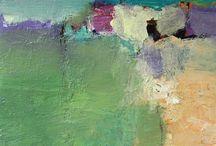 Landschap / Alles wat mij inspireert bij het schilderen, boetseren