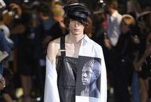 Look Now, Homem / Looks de coleções apresentadas em desfiles nas semanas de moda passadas e atuais.