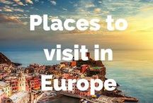 Places we want to visit in Europe / Places we want to visit in Europe - cities, national parks, nature, hiking and adventures