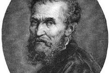 "Michelangelo  Buonarroti / Michelangelo  Di  Lodovico  Buonarroti  Simoni  born in Tuscany  Italy  (1475 - 1564) He was an Sculptor architect & EngIneer of the High Renaissance his Masterpieces were so Great than a biography of him was written by Vasari while  ""he was still alive"", Michelangelo is the Greatest Artist All Times......"