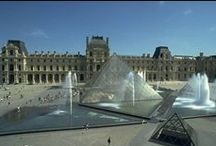 Louvre Mus.Statues / Statues and Art in the Museum of Lovre  Paris  France