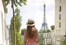 JE T'AIME PARIS / Inspiration Board for our Paris Vacation Giveaway!