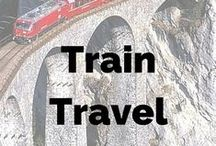Train Travel / Train travel from all over the world - Transiberian and beyond!