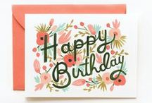 Happy Birthday! / Birthday card inspiration and examples from the Card Isle gallery.
