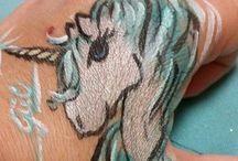 arcfestés ..face painting...yüz boyası / gyönyörű színű bőrbarát festékekkel dolgozom,minden gyerek arcára mosolyt varázsolok :) vagy pókembert,cicát,kutyát,hercegnőt,... stb ;)