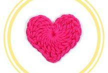 CORAZONES DE CROCHET / Patrones gratuitos paso a paso para tejer corazones de crochet o ganchillo con diagrama incluído, 100% en español.
