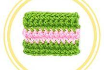 TÉCNICAS BÁSICAS DE CROCHET / En este tablero encontraremos lo básico que hay que saber cuando comenzamos a tejer a Crochet, 100% en español.