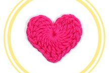 CROCHET HEARTS / Crochet hearts patterns, 100% in English. Each one of them has its chart and video tutorial =).