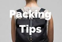 Packing Tips / Packing tips from all over the world - for backpackers, families, luxury travellers and more!