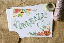 Summer Weddings / Going to a Summer Wedding? Check out these Cards, Gift Ideas, and More for the Newlyweds.