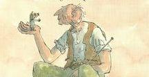Roald Dahl / Over de werken van Roald Dahl  , taalopdrachtjes en knutselactiviteiten
