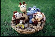 Crochet - Safari Animals / Inspired by my own Bongi's Safari - I did a wild ride on the internet for Safari inspired animals!