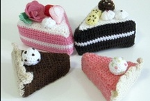 Crochet - Cakes  / Deliciously non-edible! Great for calorie watchers :)