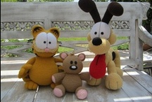 Crochet - My Favorite Characters / I am a huge fan of Garfield and Winnie the Pooh, and I would love to one day try my own crochet patterns for them!