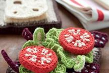 Crochet - Play Food / I love to crochet play food for my little girl, and the web has so many great offerings and inspiration.