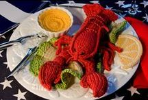 Knitting - Play Food / I am an aspiring knitter and would love to learn to knit play food too!