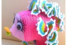 Crochet - Under the Sea / I love the sea, and although I live like 30 minutes away, I almost never get to go there! New years resolution for next year - visit the sea at least once a month!! My little girl loves the sea too!