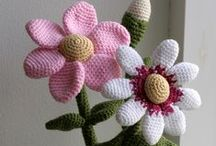 Crochet - Garden / I have no green fingers whatsoever! So creating a fake garden is the next best thing!