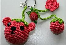 Crochet - Keychains (Cute, Pretty & Adorable ) / I love making keychains, and it's great to be inspired by others!