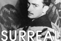 DALÍ   —   [  1  ] / Salvador Felipe Jacinto Dalí i Domènech,1 marqués de Dalí y de Púbol (Figueras, 11 de mayo de 1904 – ibídem, 23 de enero de 1989), fue un pintor, escultor, grabador, escenógrafo y escritor español, considerado uno de los máximos representantes del surrealismo.