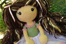 Crochet - Dolls / Pretty, cute and totally adorably dolls!