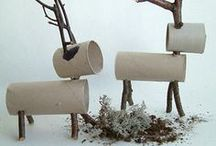creation  recyclage noël