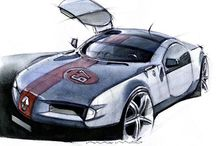 Cars - Concepts - Art and Portfolios / by John Kowalski