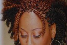 braids twist and locks / by Chantae Williams