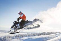 Snowmobiling :*
