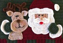 Crochet - Christmas / Crocheted Xmas goodies!