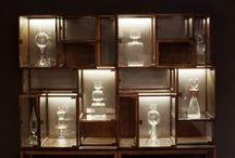 Ludo Box - Cabinet by Paolo Castelli S.p.A. / Ludobox è una prezioso scrigno in cristallo per esporre, valorizzare e proteggere i piccoli e grandi tesori che contiene.