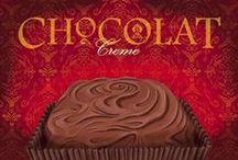 Decoupage édesség - Decoupage sweets / decoupage papírok édességek témában