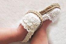 Crochet - Baby Shoes/Booties & Sandals