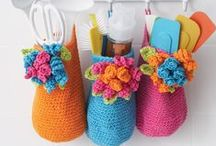 Crochet - Kitchen & Bath / Goodies for the bath and kitchen.