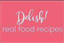 Delish - Real Food Recipes! / Delicious food, made with REAL ingredients!